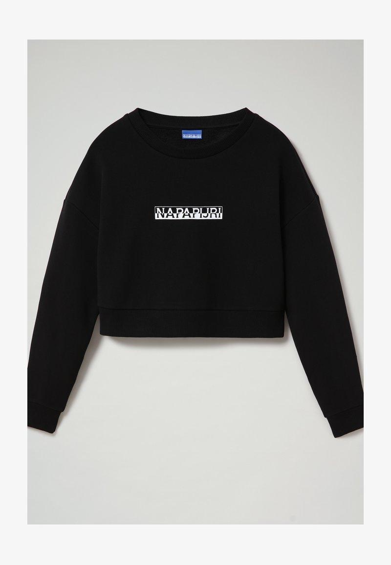 Napapijri - B-BOX CROPPED C - Sweatshirt - black