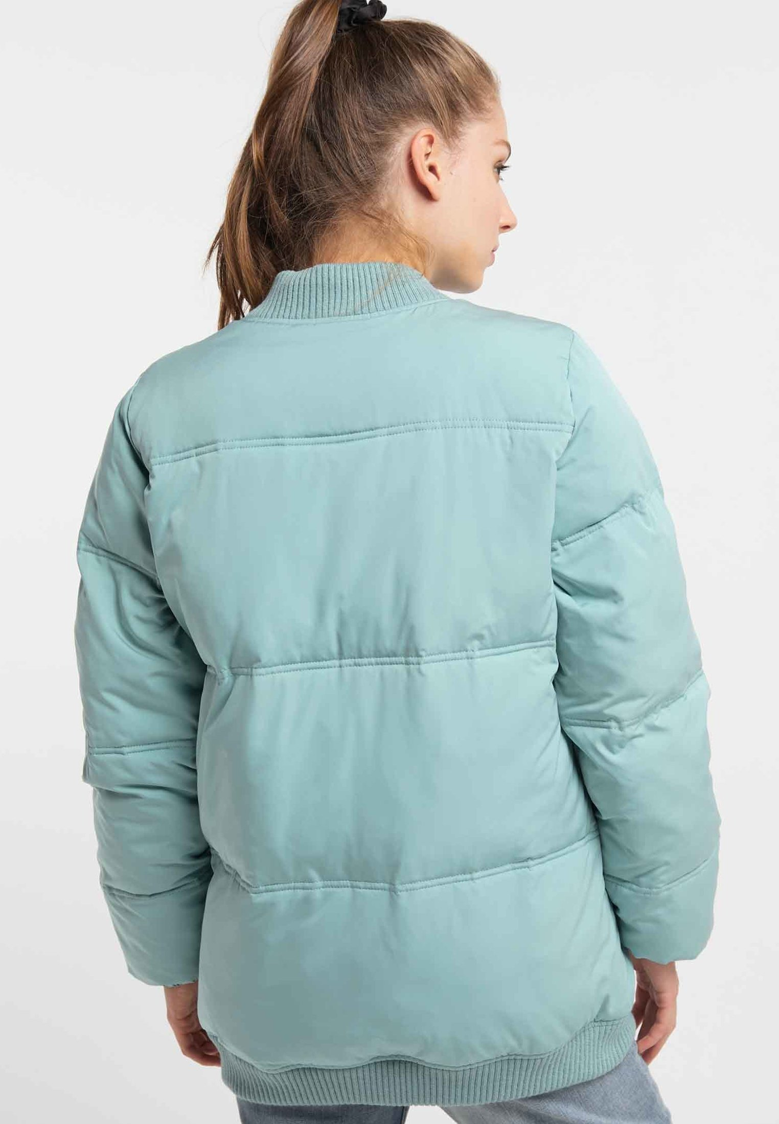 myMo Winterjacke dark mint/mint
