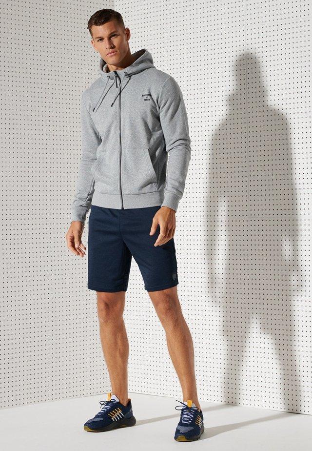 veste en sweat zippée - grey marl