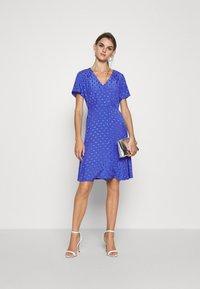 Nümph - NUBRANDALL DRESS - Day dress - blue - 1