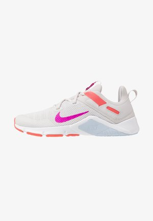 LEGEND ESSENTIAL - Sports shoes - vast grey/fire pink/magic ember/hydrogen blue/white