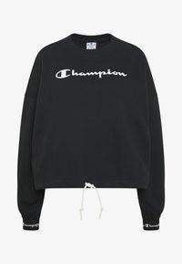 Champion - HIGH NECK  - Bluza - black - 4