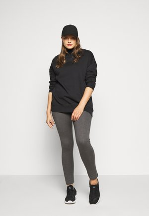 2 PACK - Leggings - Trousers - black/grey