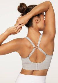 OYSHO - Sports bra - grey - 1