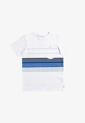 MORE CORE  - T-shirt imprimé - white