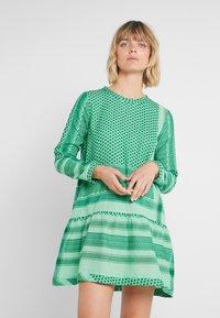 CECILIE copenhagen - DRESS - Day dress - green - 0