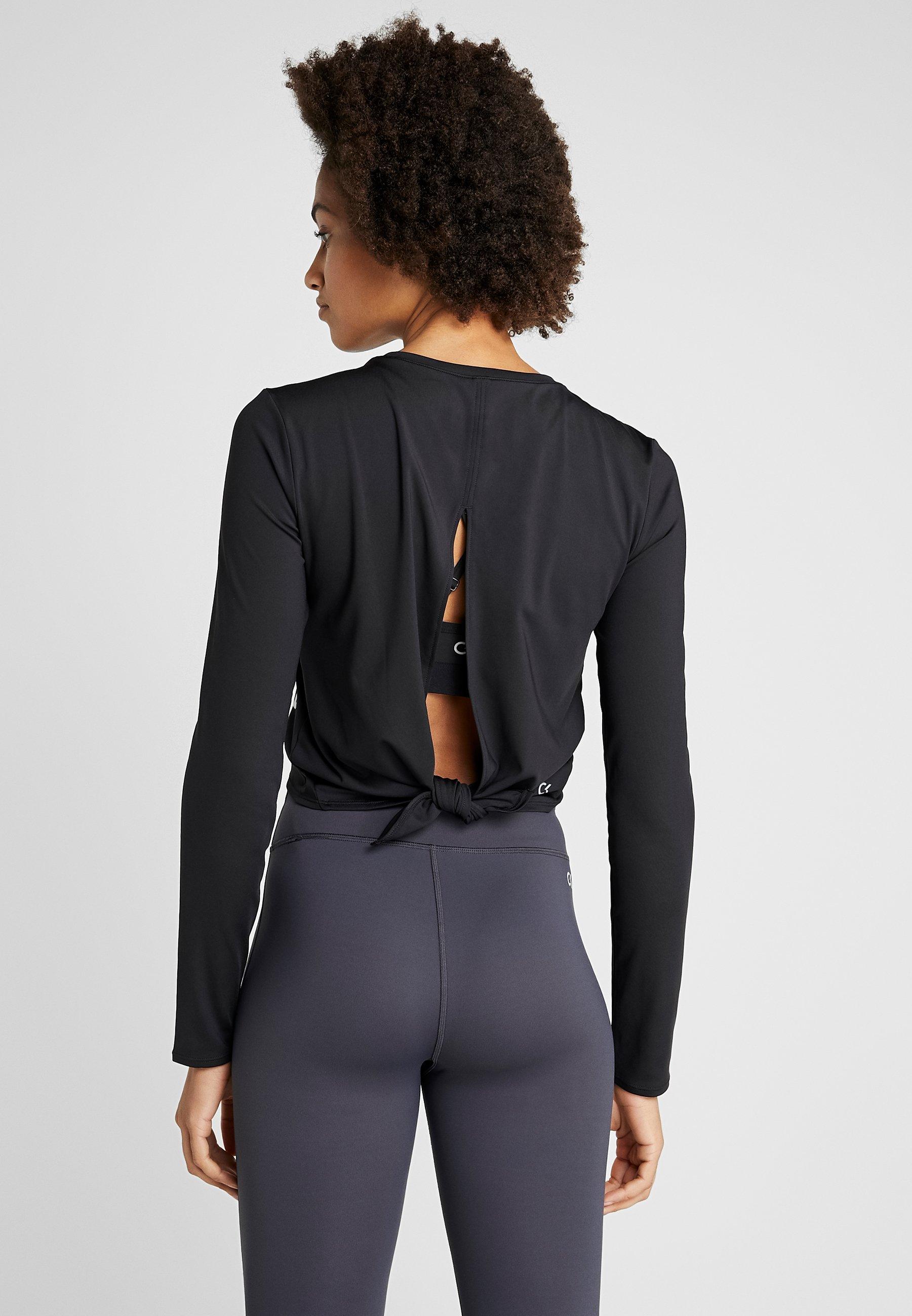 Calvin Klein Performance Long Sleeve - Sports Shirt Black
