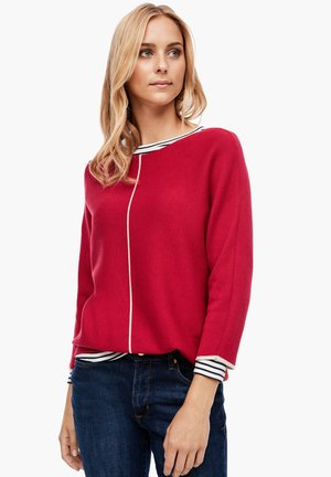 Jumper - dark red