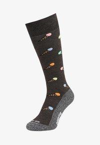 Barts - ICE CREAM - Knee high socks - charcoal - 0