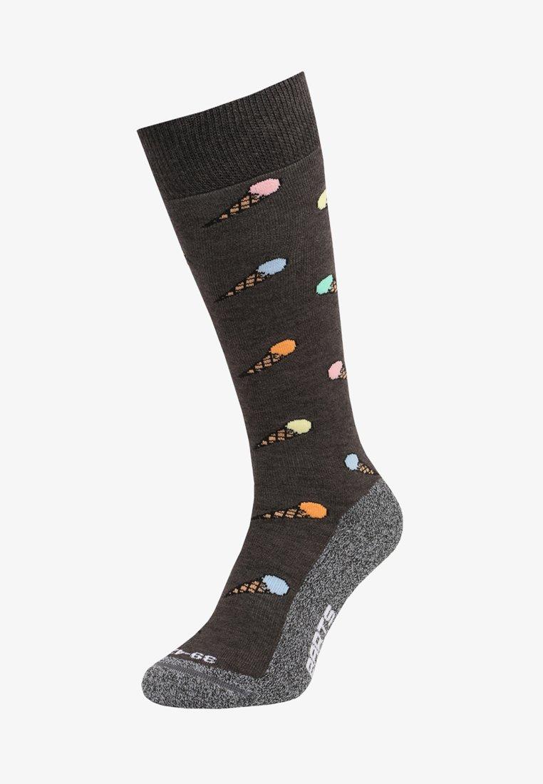 Barts - ICE CREAM - Knee high socks - charcoal