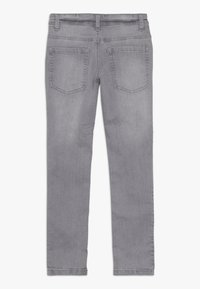 Benetton - TROUSERS - Jeansy Slim Fit - grey - 1