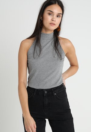 Top - light grey/grey