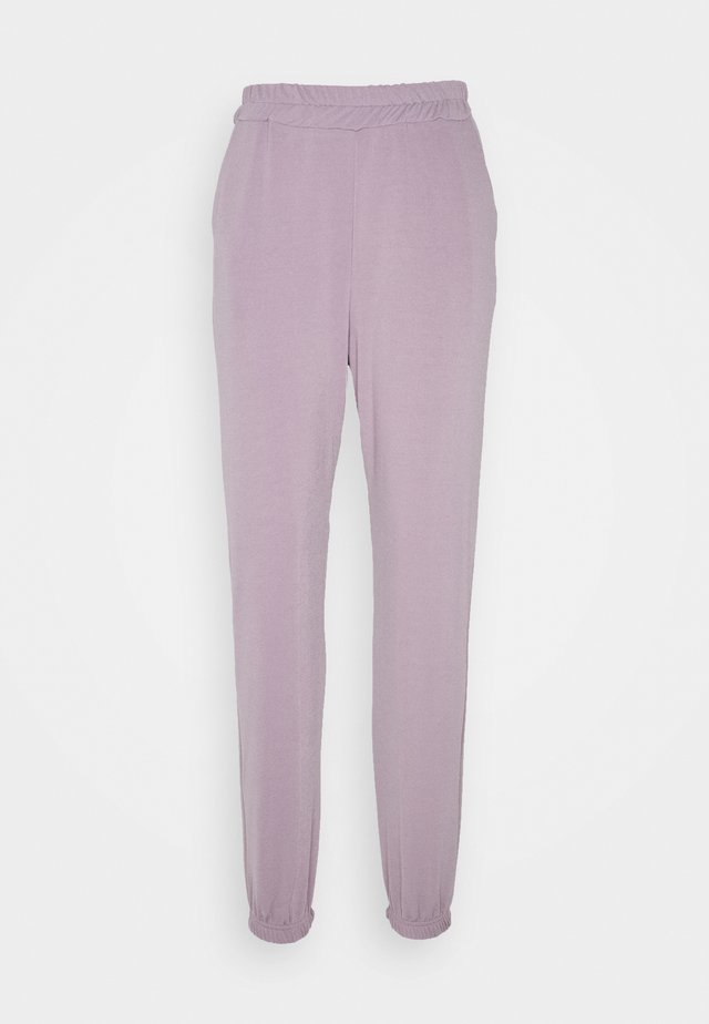 PETITE BASIC JOGGERS - Spodnie treningowe - grey