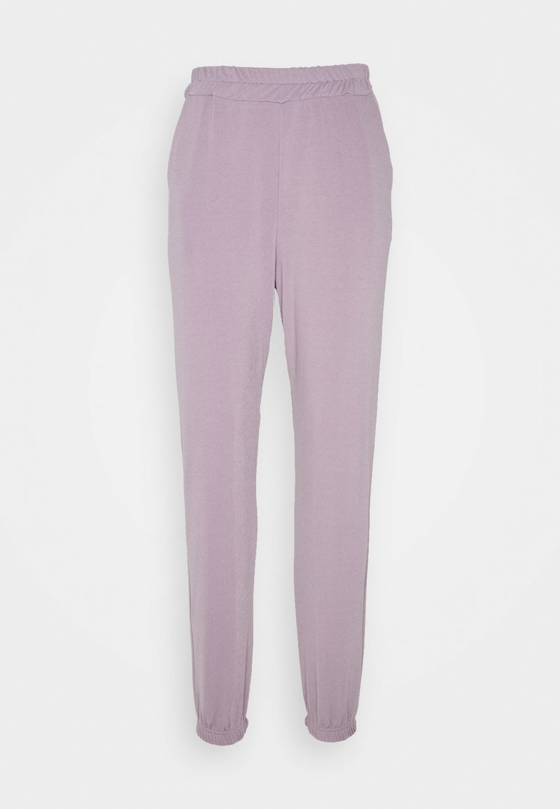 Missguided Petite - BASIC - Tracksuit bottoms - grey
