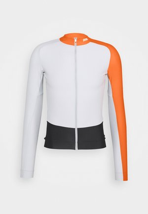 ESSENTIAL ROAD  - Long sleeved top - granite grey/zink orange