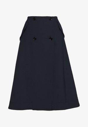 SMART SKIRT - A-line skirt - blue navy