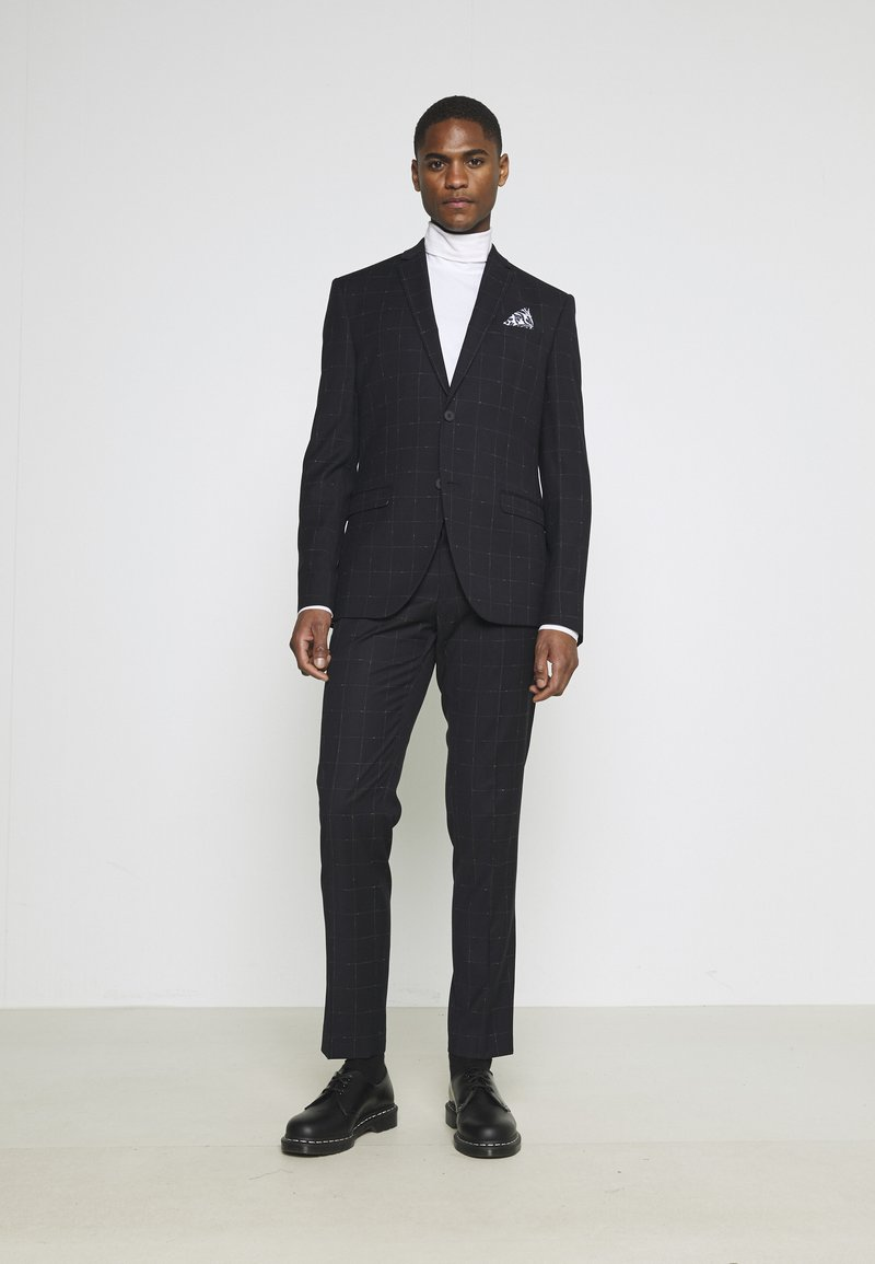 Isaac Dewhirst - WINDOWPANE SUIT - Suit - blue