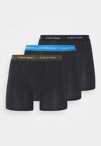 BRIEF 3 PACK - Pants - black