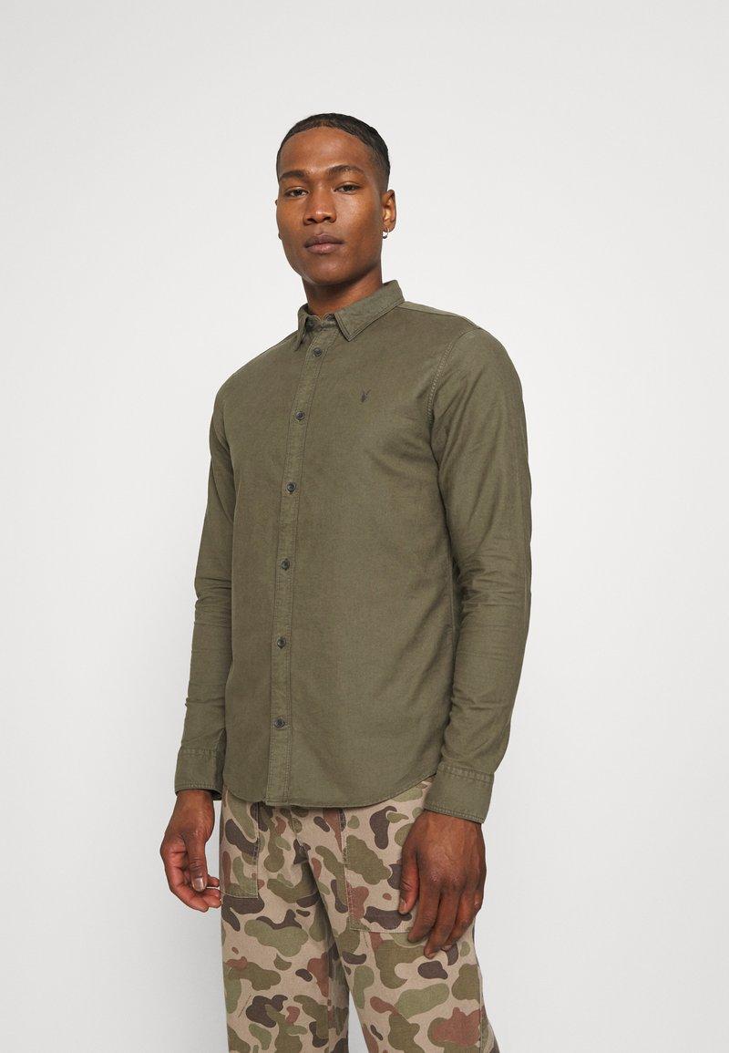 AllSaints - HUNGTINGDON SHIRT - Shirt - parlour green