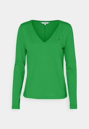 REGULAR CLASSIC - Topper langermet - primary green