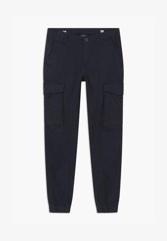 JJIPAUL JJFLAKE - Cargobroek - navy blazer