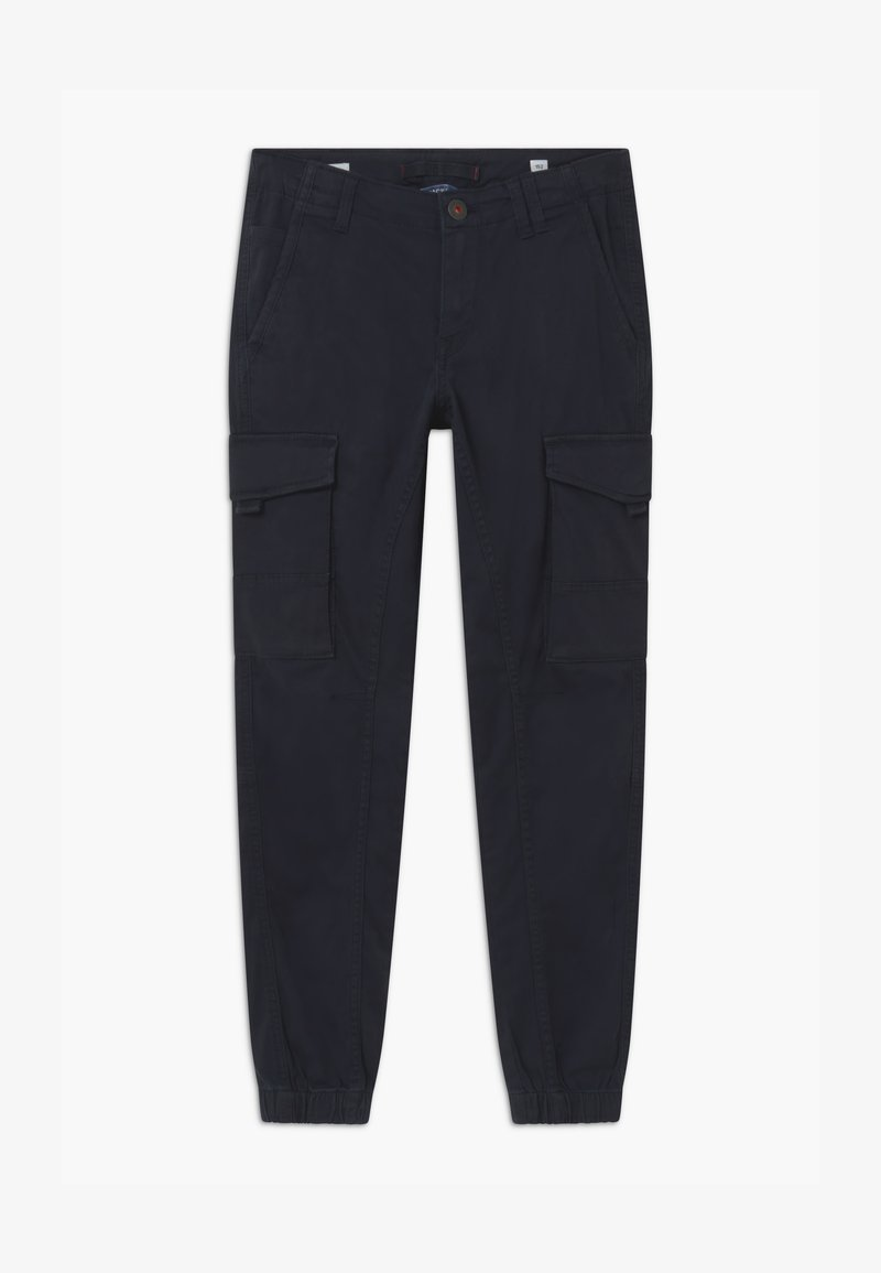 Jack & Jones Junior - JJIPAUL JJFLAKE - Cargo trousers - navy blazer