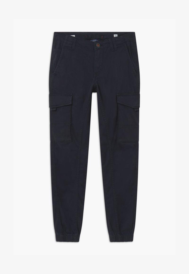 Jack & Jones Junior - JJIPAUL JJFLAKE - Pantalon cargo - navy blazer