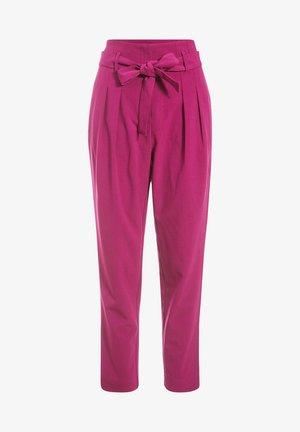 Trousers - violet foncé