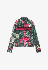 Guess - JUNIOR ACTIVE - Cardigan - green/pink - 3