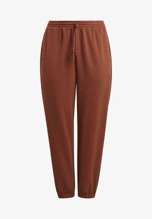 CUFFED JOGGERS - Pantaloni sportivi - brown