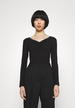 NEBRIANA - Long sleeved top - black