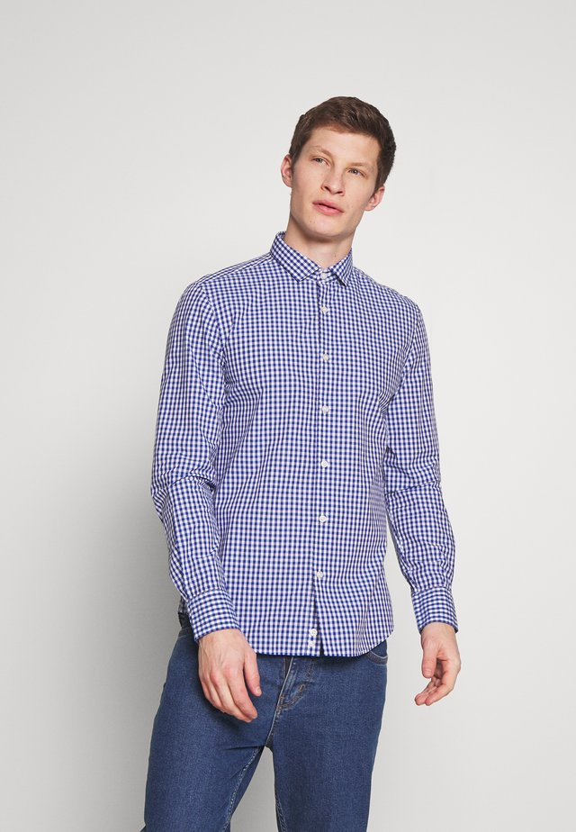 CHECK SHIRT - Shirt - blue