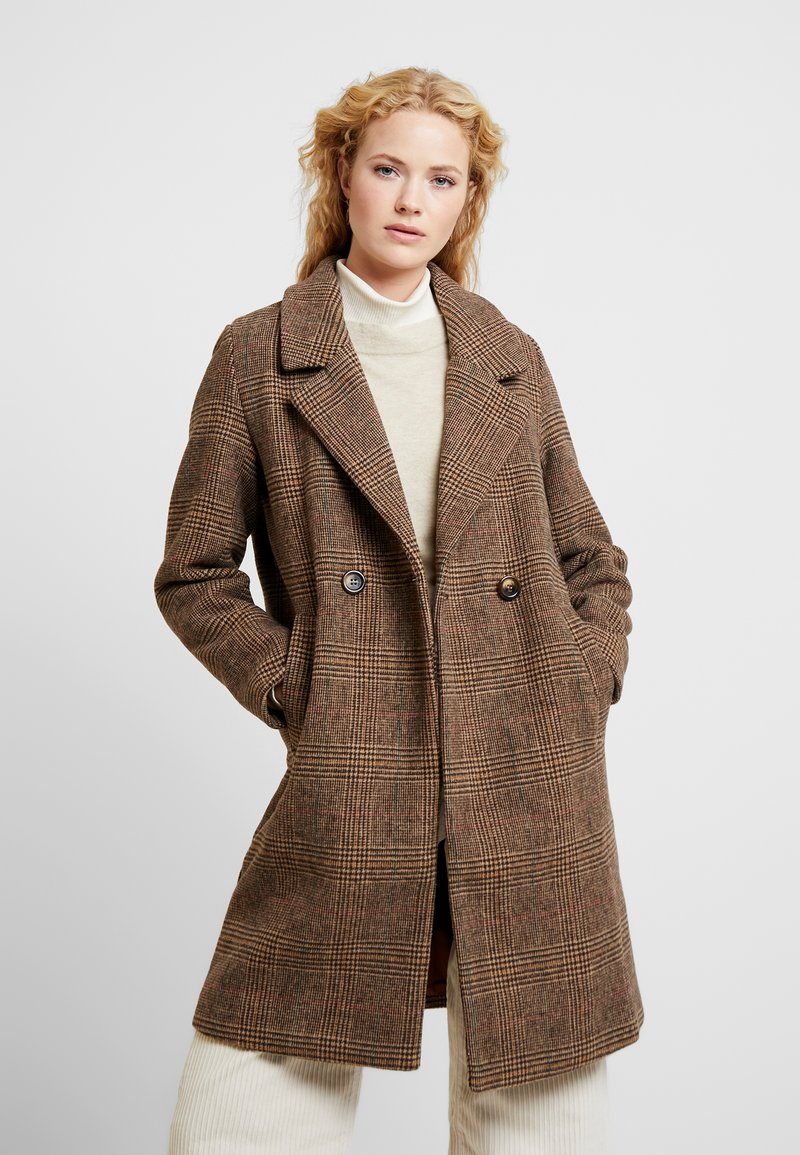 b.young - BYAMANO - Manteau classique - fossil