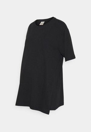 OVERSIZED - T-shirts - black