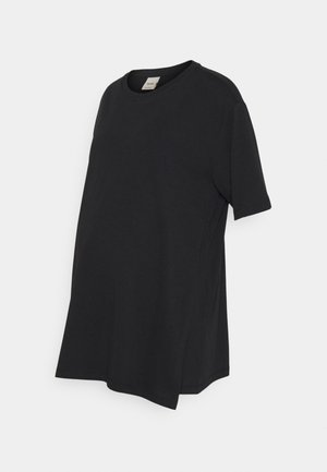 OVERSIZED - Camiseta básica - black