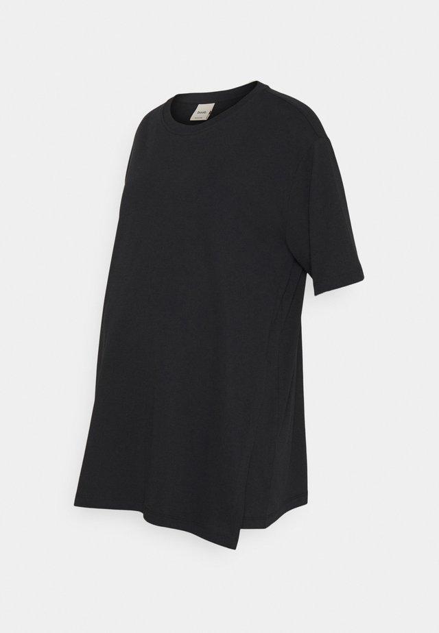 OVERSIZED - T-shirt basic - black