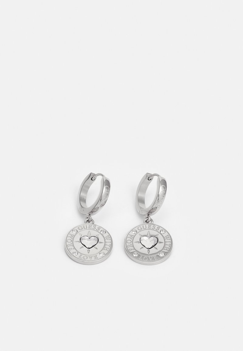 Guess - WITH LOVE - Kolczyki - silver-coloured