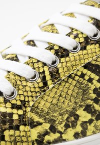 Topshop Wide Fit - WIDE FIT COLA - Trainers - yellow - 2