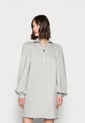 NANKITA ZIPPER DRESS - Day dress - light grey melange