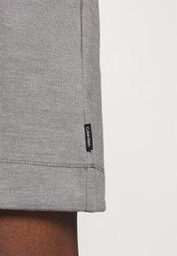 Calvin Klein - HOODED DIAMANTE DRESS - Day dress - mid grey heather - 4