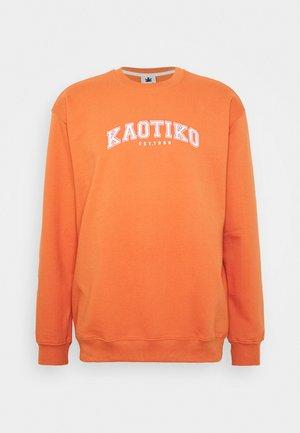 CREW CORWIN - Sweatshirt - orange