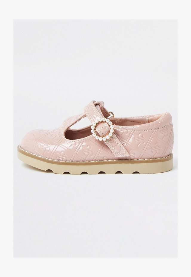 MONOGRAM - Touch-strap shoes - pink