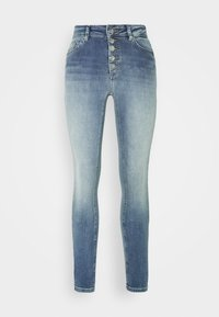 ONLY Petite - ONLBLUSH BUTTON - Jeans Skinny Fit - light blue denim - 4