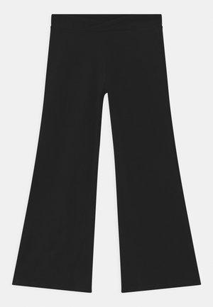 JAZZ UNISEX - Trousers - black