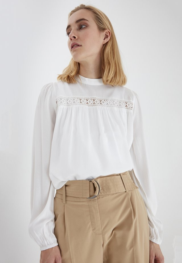 BYIMO - Pitkähihainen paita - off white