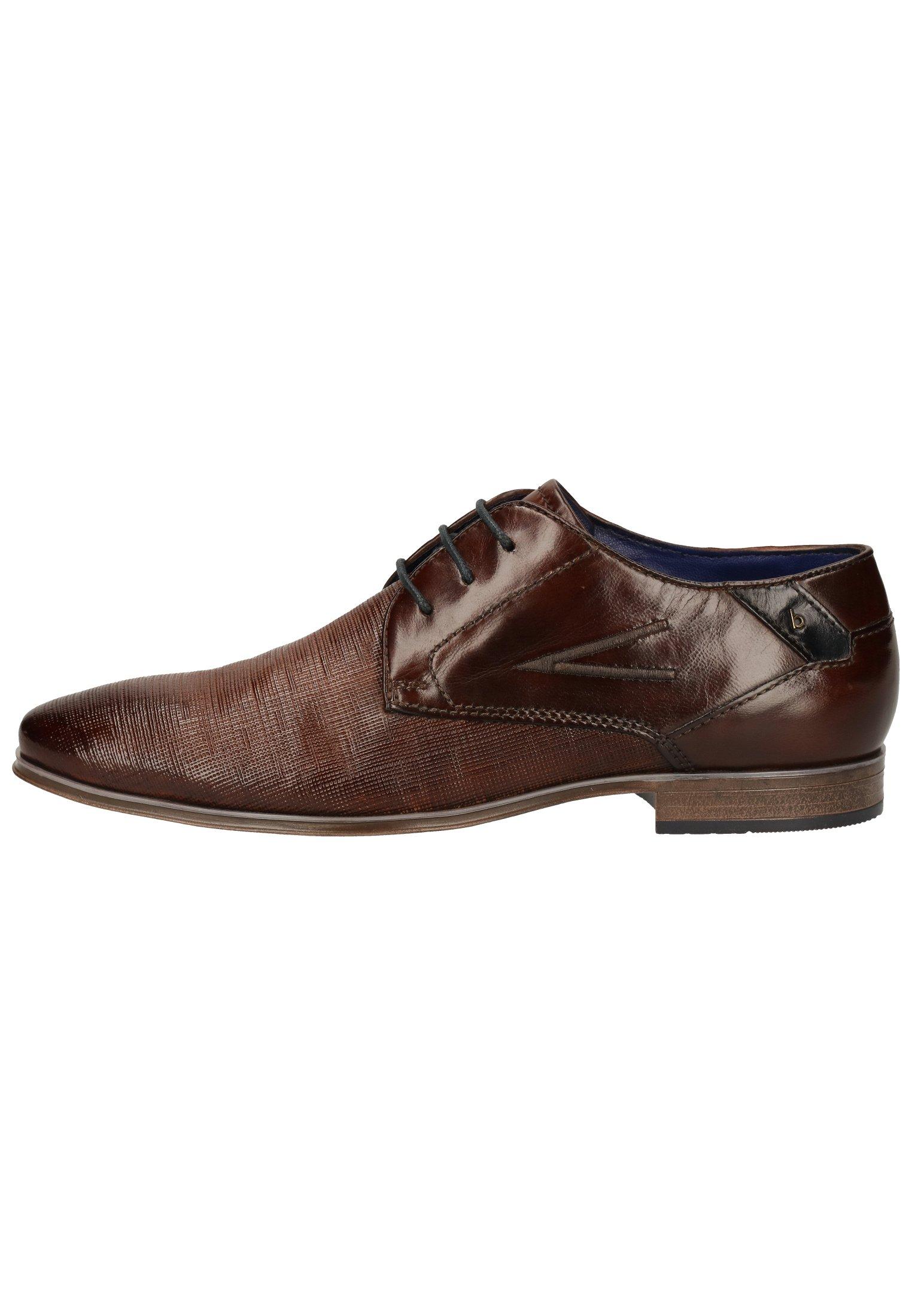 Homme Derbies & Richelieus - mid-brown
