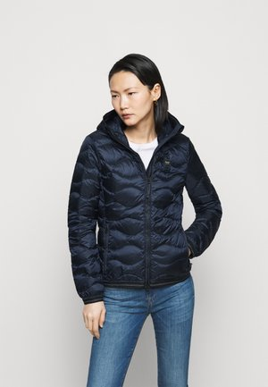 BASIC WAVE HOOD - Down jacket - navy