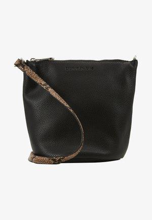 MINI BUCKET PYTHON - Across body bag - black