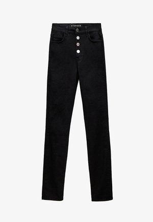MIT HOHEM BUND 00110651 - Jeans Skinny Fit - black