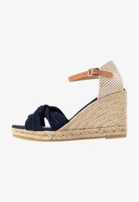 Kanna - SIENA - High heeled sandals - marino - 1